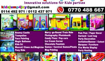 KidsJump4joy – Bouncy Castle Hire